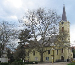 Kath. Kirche in Caransebes