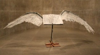 Greg Headley - Anselm Kiefer's Book with Wings at the Fort Worth Modern cc by-nc-sa 2.0 flickr 500x